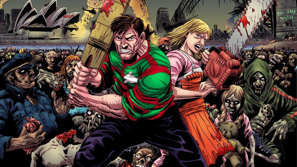 """""""Sydney Zombie Apocalypse"""" by Silver Fox Comics by Sorab ..."""