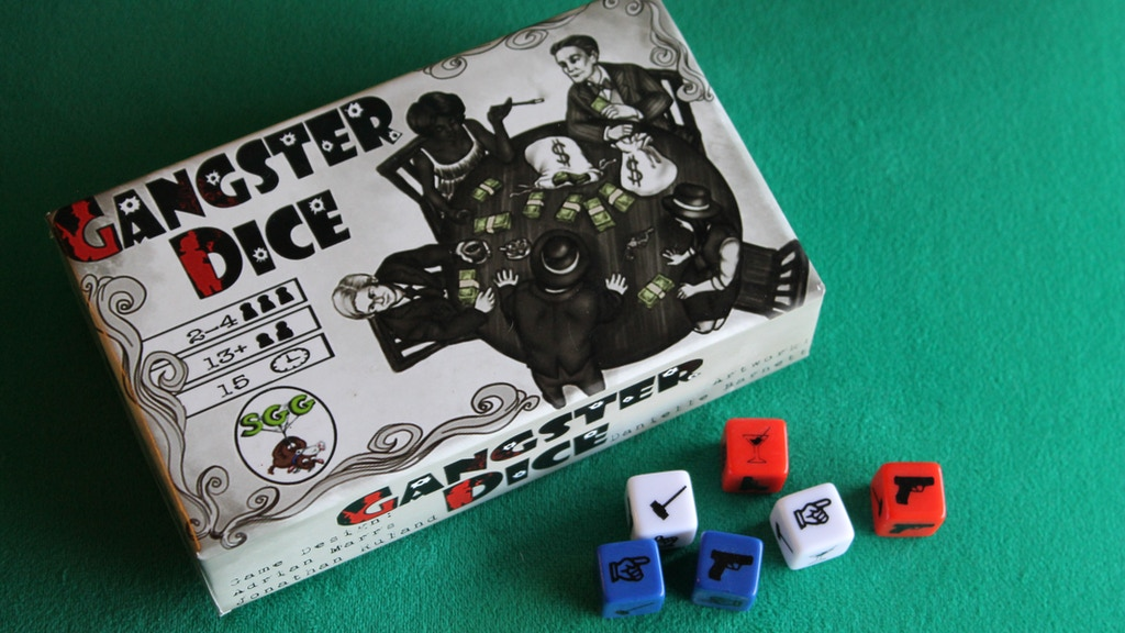 Gangster Dice - A Game of Muggs, Molls, and Mobsters project video thumbnail