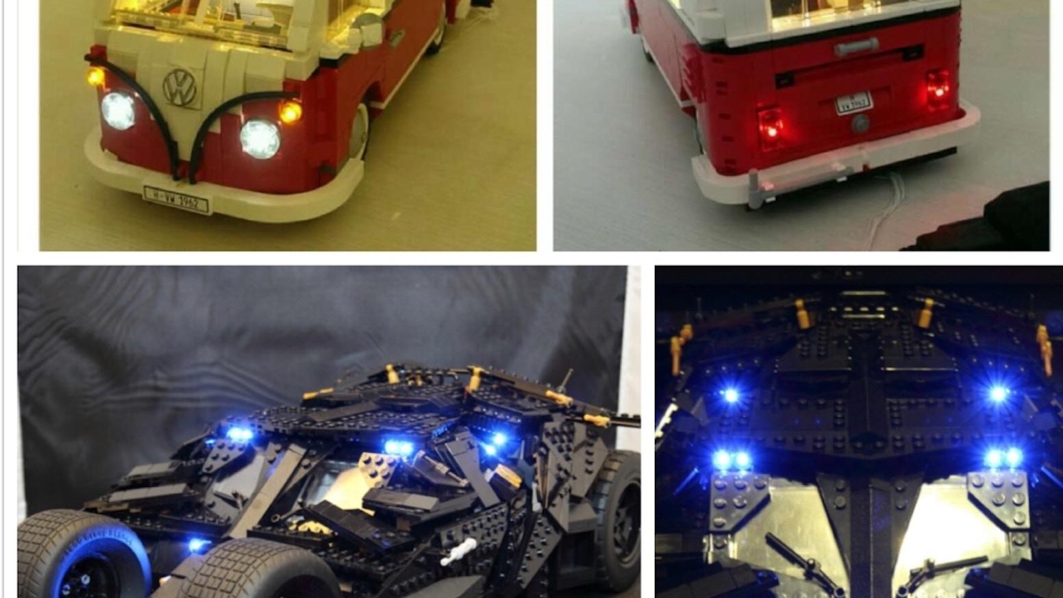 Lightup Kits For Lego Creator Camper Vanbatman Tumbler By