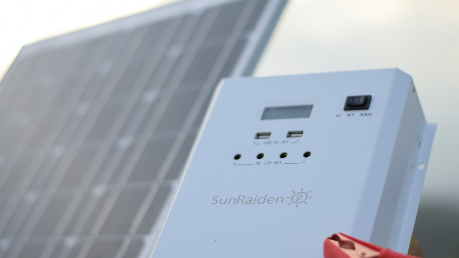 Sunraiden Solar Inverter Charger For Off Grid Power Systems By Plug Wiring Diagram Likewise Led Street Light The Is An Easy And Affordable Electrical