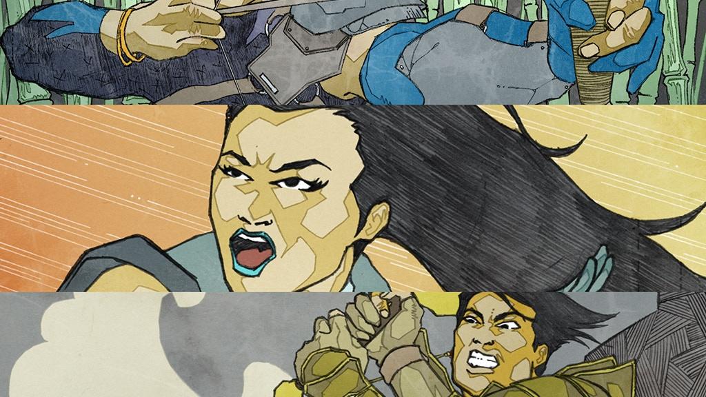 Legend the Comic project video thumbnail