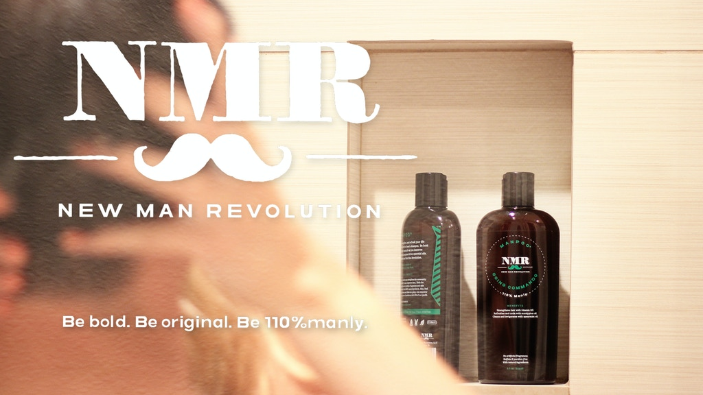 Manpoo by NMR. A natural, intelligent & bold men's shampoo. project video thumbnail