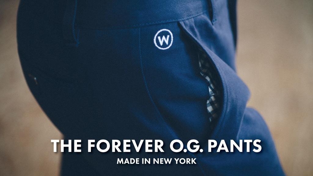 THE FOREVER O.G. PANTS Lifetime Quality without The Markup project video thumbnail