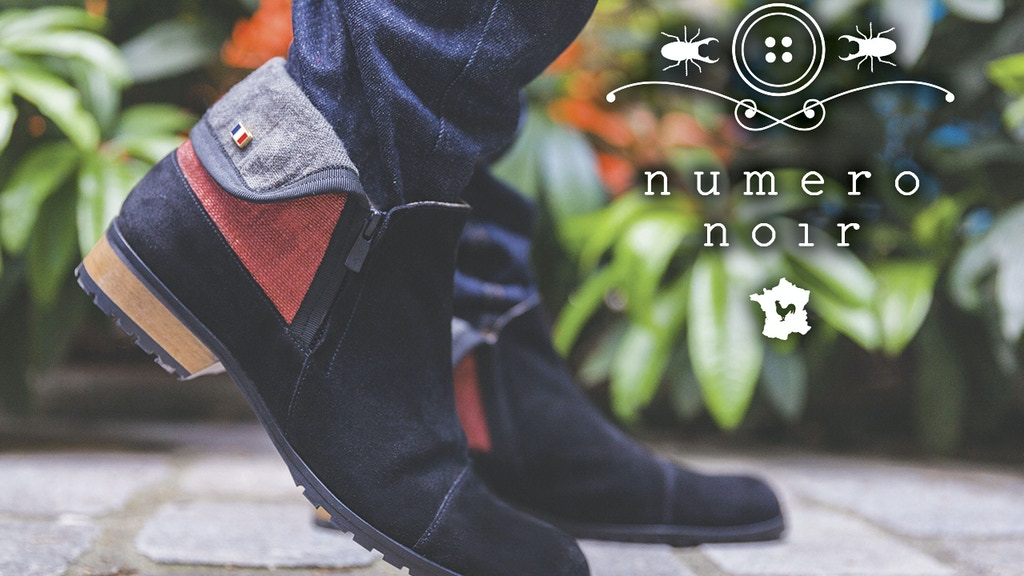 Numero Noir Boots - Handcrafted in France - project video thumbnail