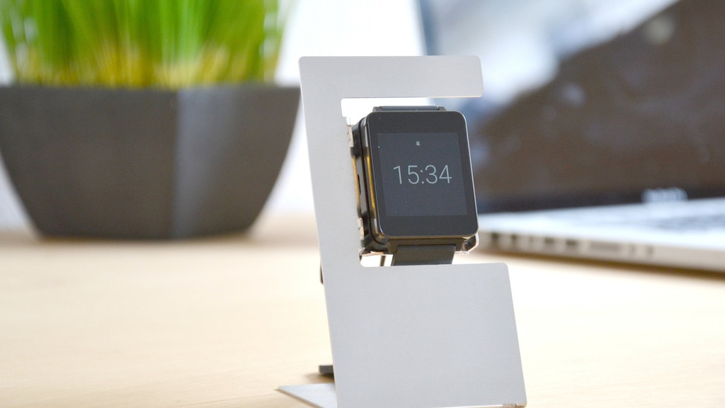 Smartwatch Charging Dock project video thumbnail