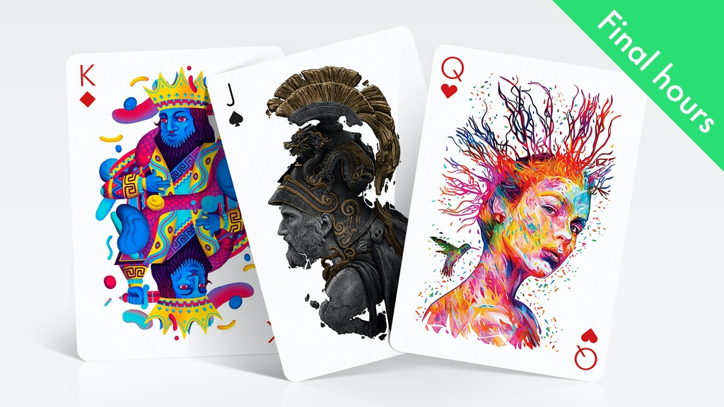 Playing Arts — Playing Cards Designed By Different Artists project video thumbnail
