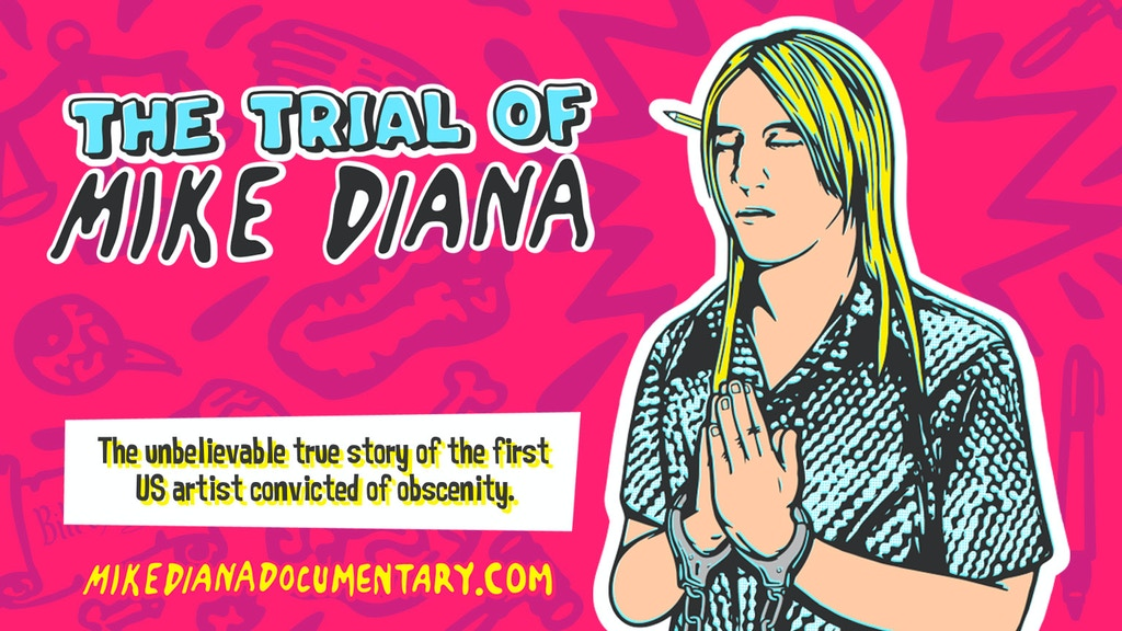 The Trial of Mike Diana project video thumbnail