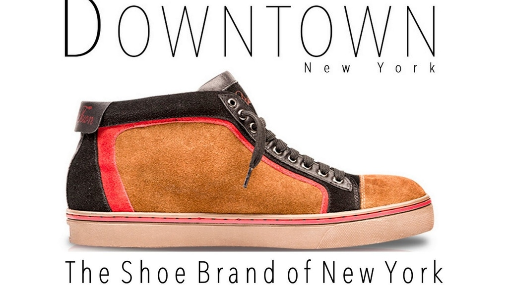 Downtown Shoes New York: Feeling NY Footwear Fashion Design project video thumbnail