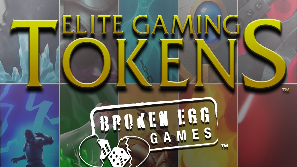 Elite Gaming Tokens - Bring Your Gaming Table To Life! project video thumbnail