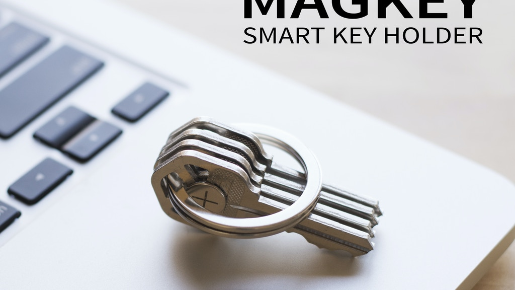 MAGKEY - Magnetic Smart Key Holder project video thumbnail