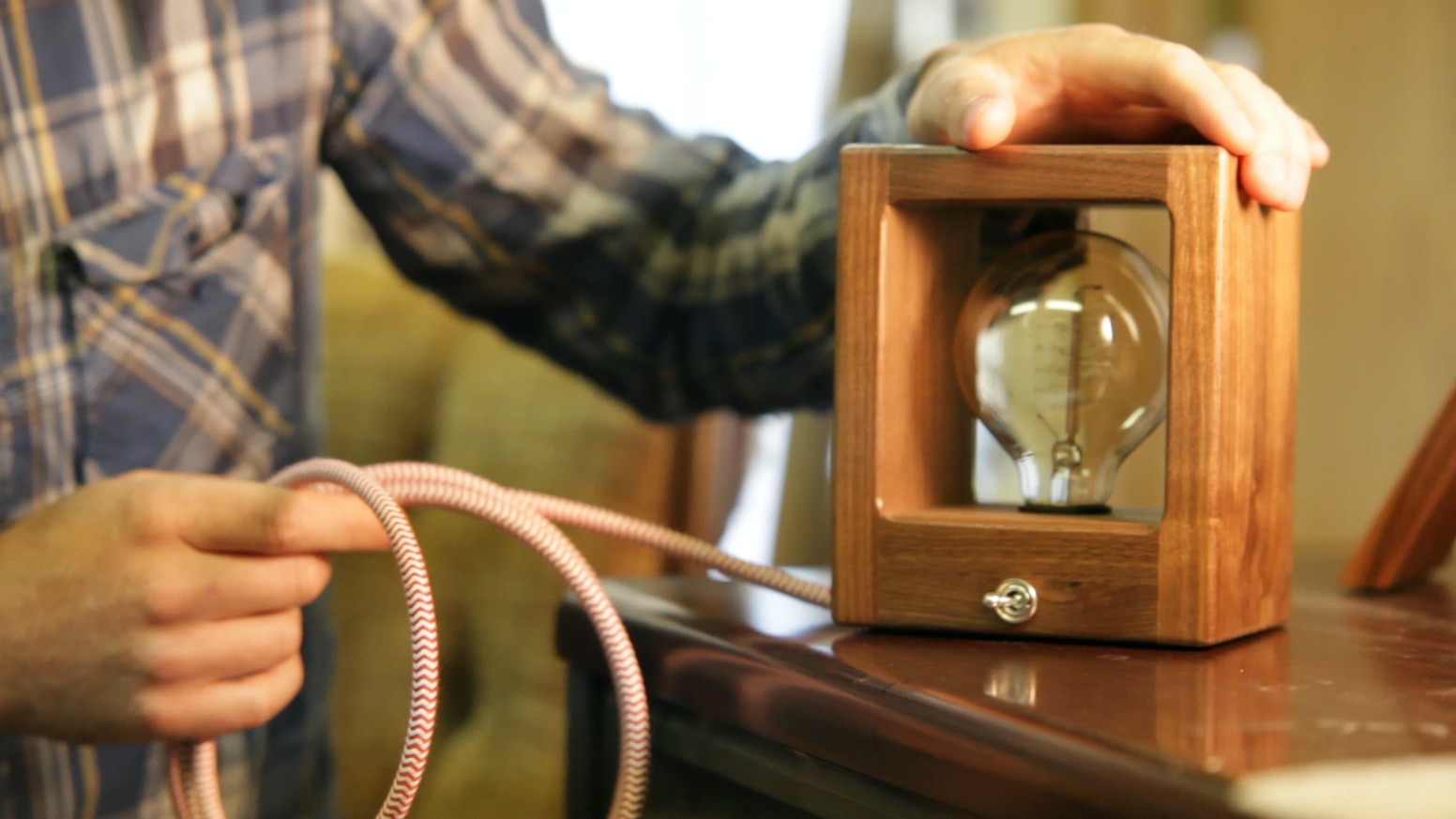 Carefully Crafted Modern Lamps with Vintage Style to Light Up Your Home, Office, Vintage RV, or Teardrop Trailer.