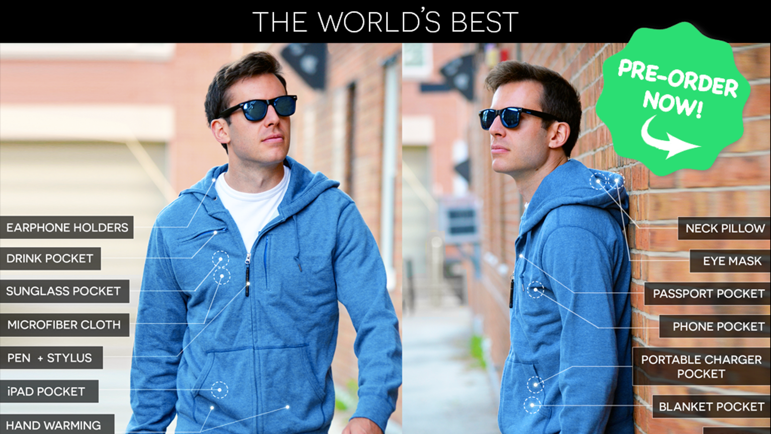 b0e1d480e1 The World s Best TRAVEL JACKET with 15 Features
