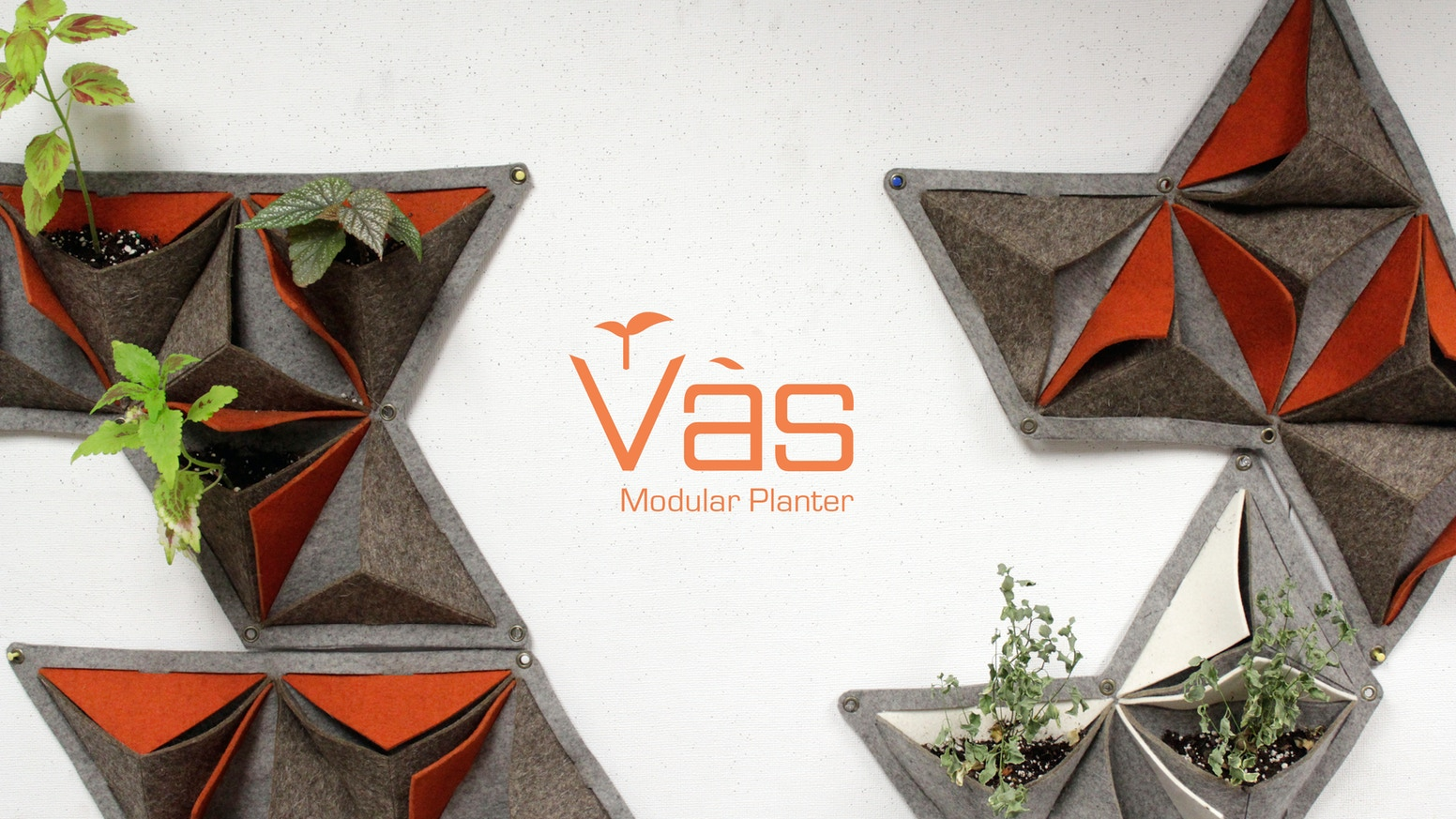 Designed to be fun, decorative, and eco-friendly. Vàs brings the joy of gardening to even the smallest of spaces.