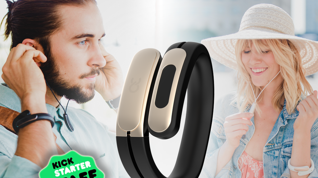 HELIX: Wearable Cuff with Stereo Bluetooth Headphones project video thumbnail