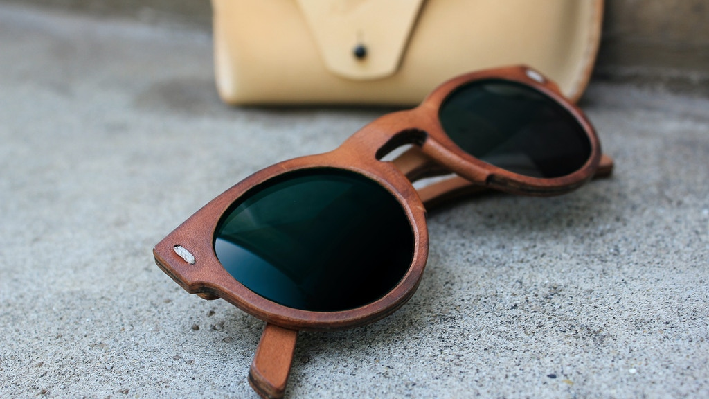 Jbird Collective // The First All Leather Sunglasses project video thumbnail
