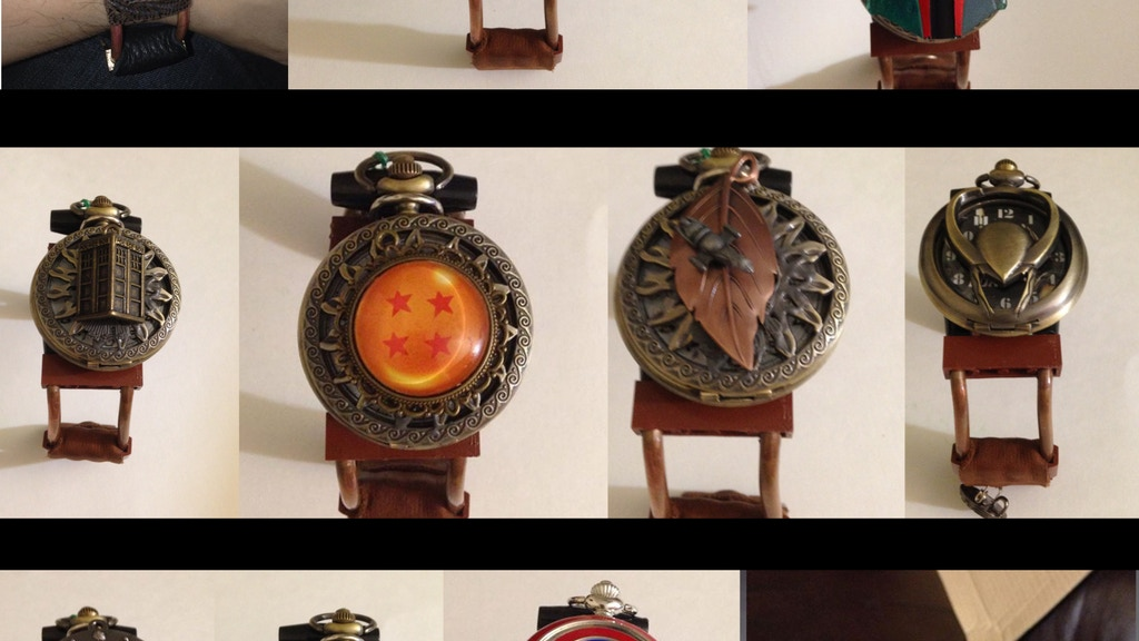 Project image for Fandom SteamPunk Watches (Canceled)