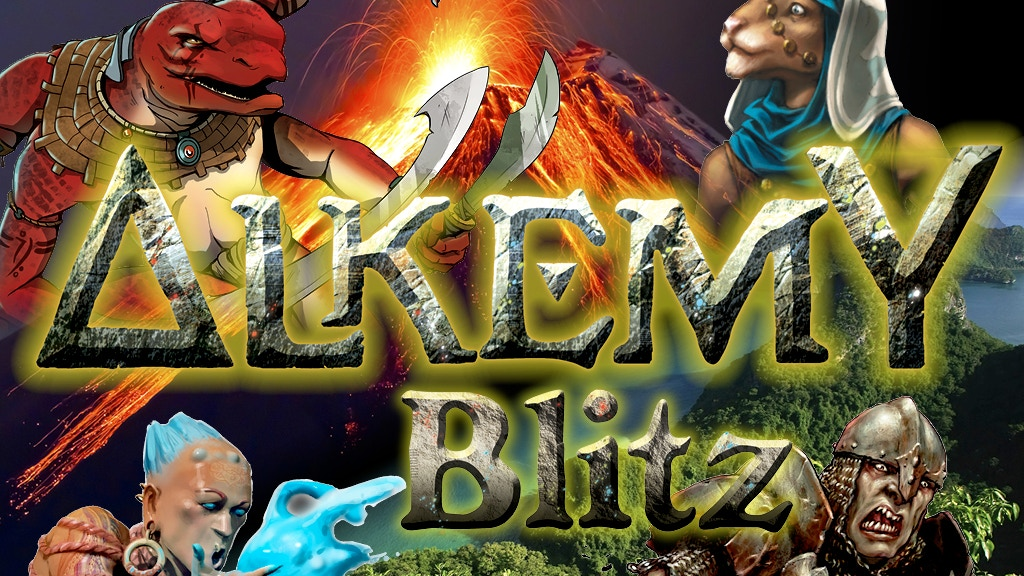 Alkemy Blitz Miniatures Game project video thumbnail