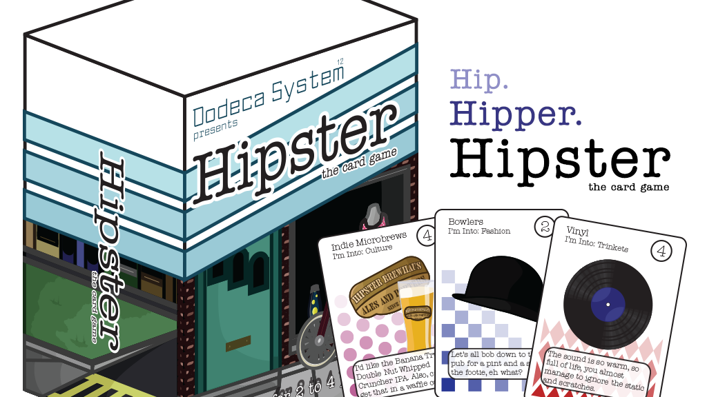 Hipster: The Card Game project video thumbnail
