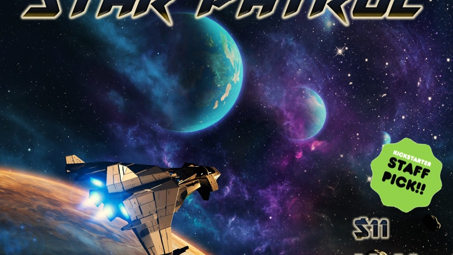 STAR PATROL: a hex & counter minigame of starship combat by