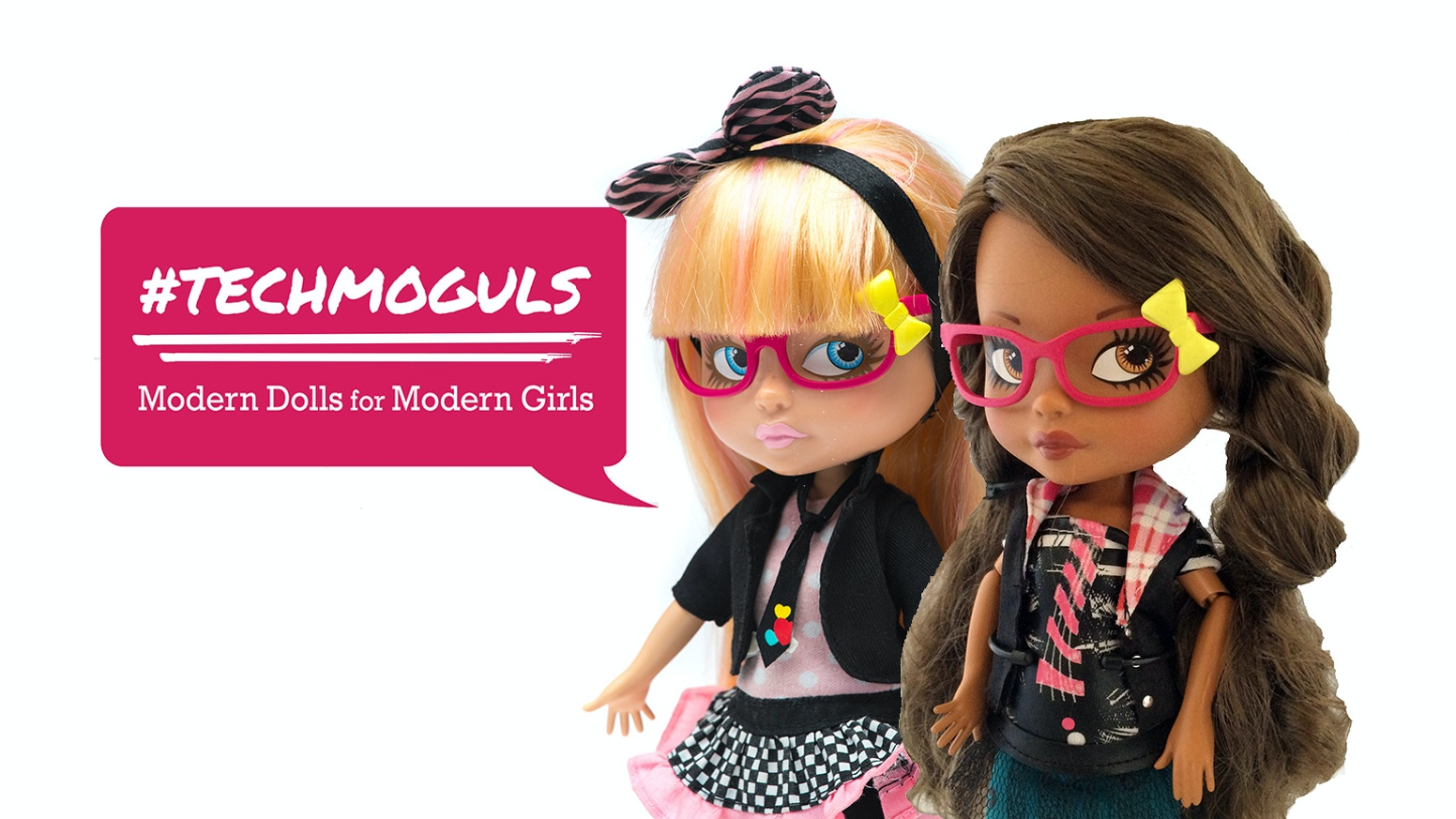 """Middle School Moguls (formerly iBesties) is a collection of dolls, books & online """"edutainment"""" that promotes entrepreneurship and technology learning for young girls."""