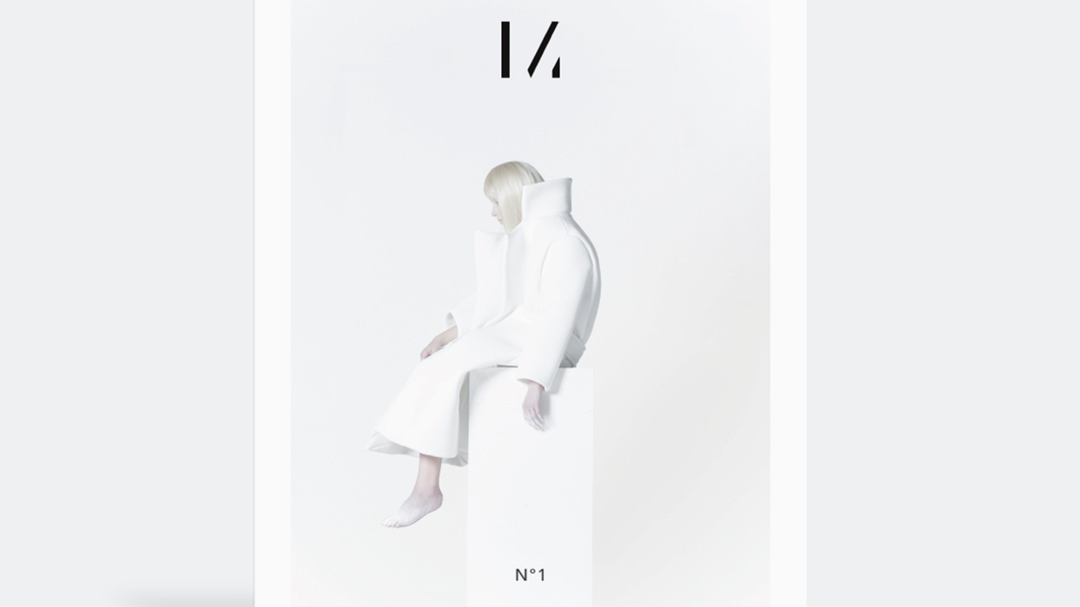 A magazine that celebrates the best of minimalism in design. Issue Nº1