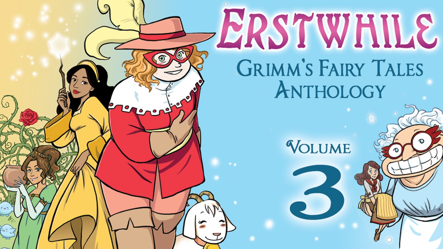 A comics anthology by three female creators that will transport your inner child to a vivid world of fairy tales.