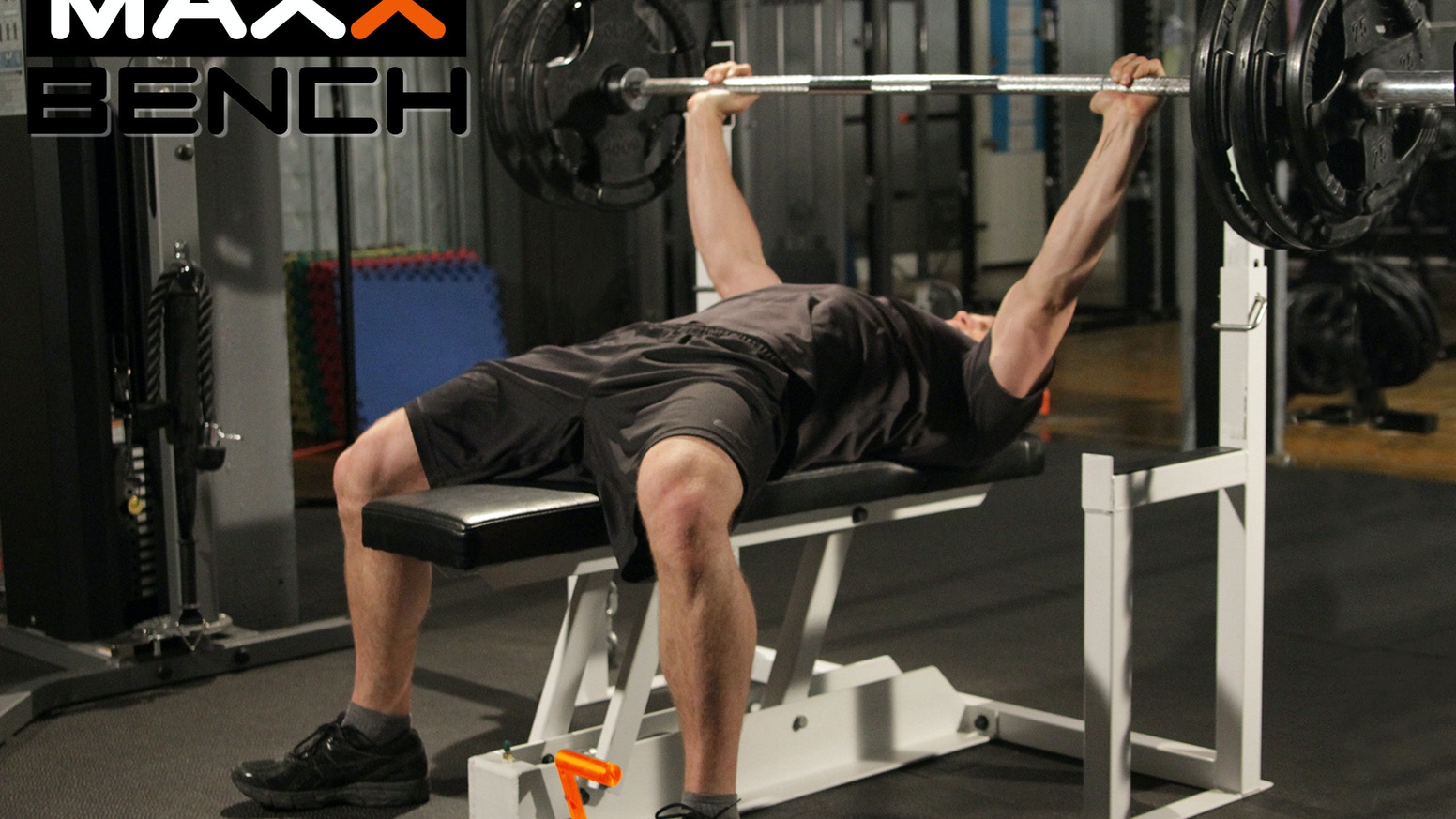 Maxx Bench First Ever Gravity Release Press By Dave See A Robot Workout