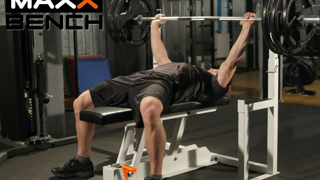 MAXX BENCH: First Ever Gravity Release Bench Press project video thumbnail