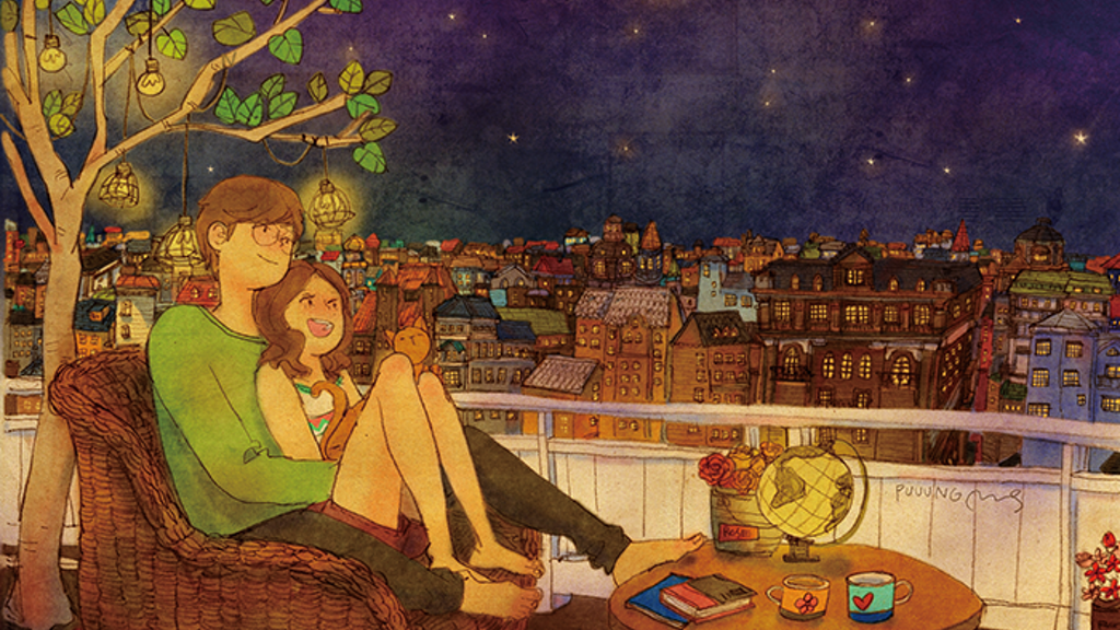 LOVE is : Puuung's illustration of love project video thumbnail