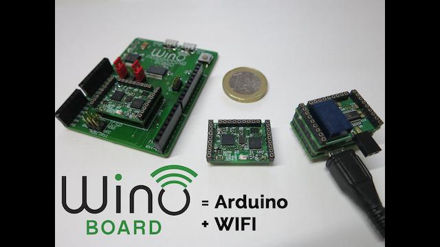 Wino board the tiny arduino with wifi by ian