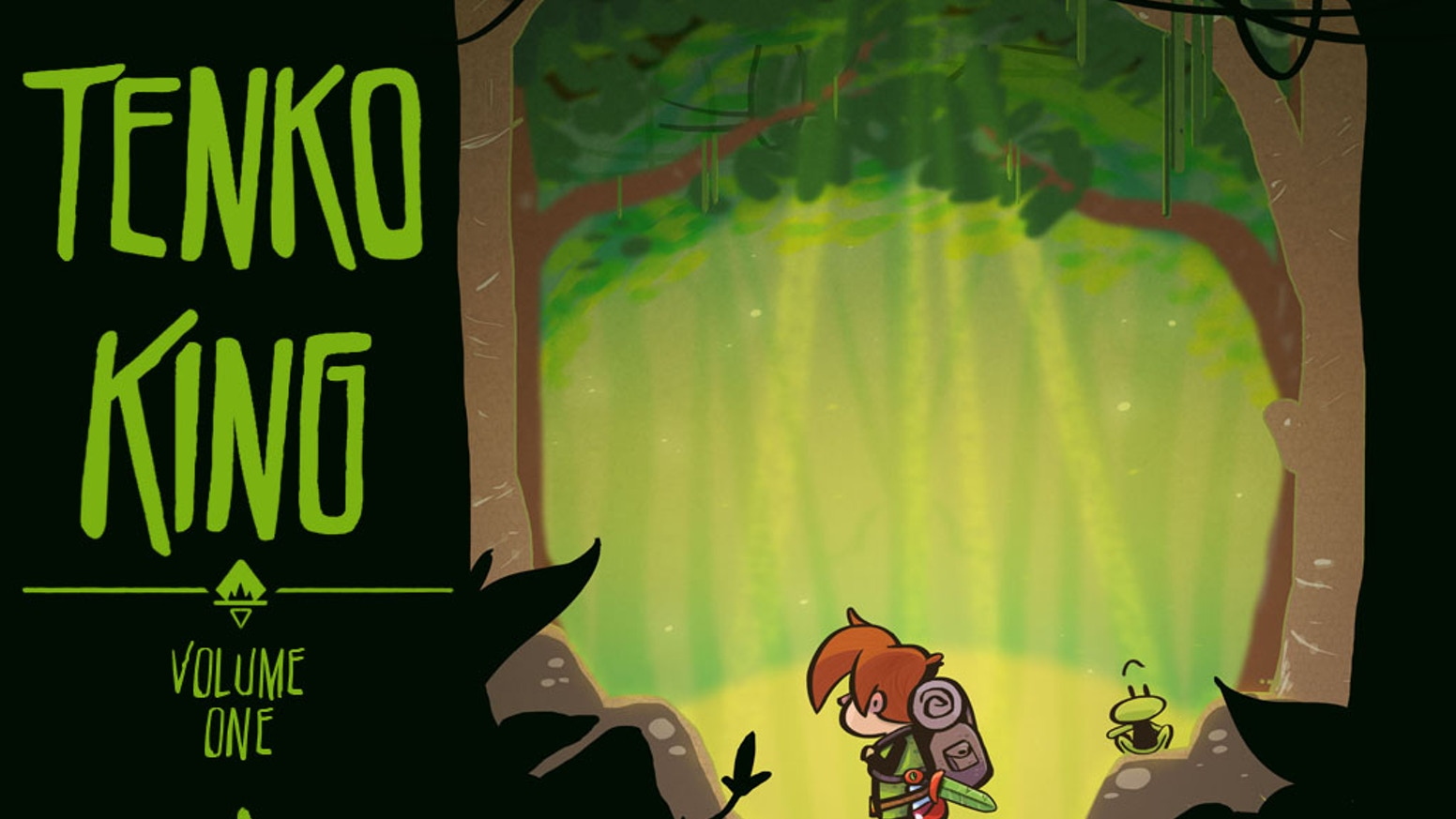 Tenko King is an ongoing, online, all ages fantasy adventure comic created by Eisner award-voting creator Tavis Maiden.