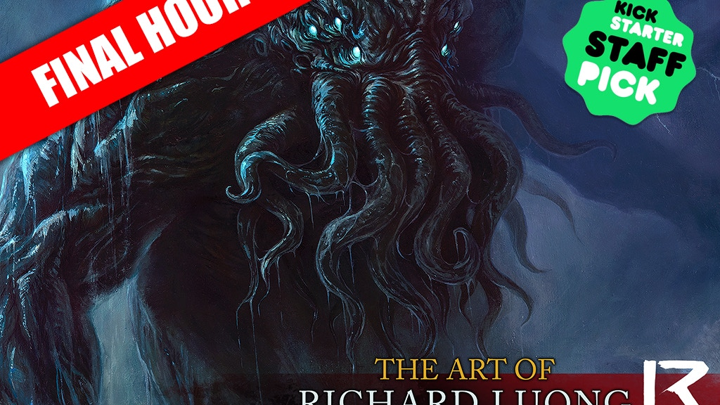 Cthulhu - The Art of Richard Luong project video thumbnail