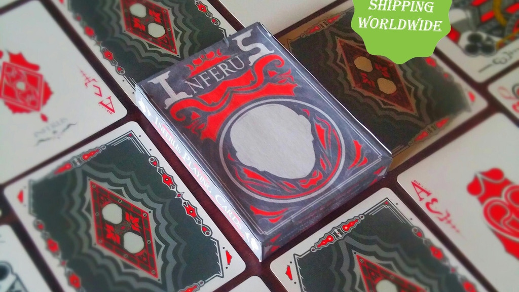 Project image for Inferus Playing Cards