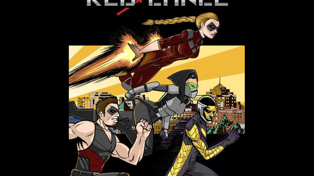 Red Lance comic book - heroes with gender equality project video thumbnail