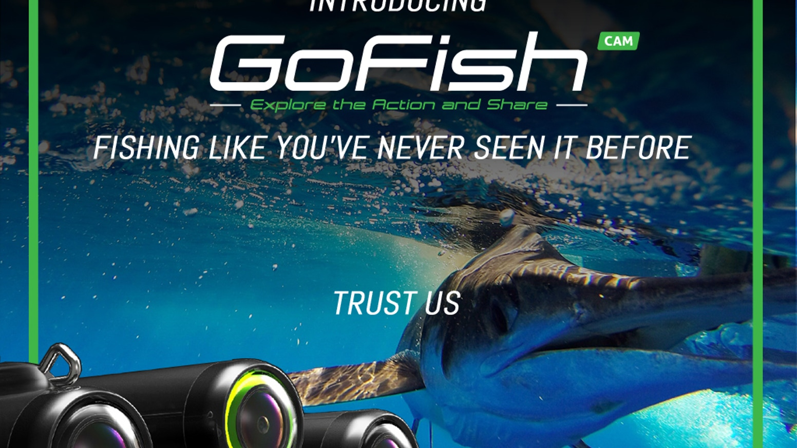 GOFISH CAM: The Extreme Action-Adventure Camera for Fishing