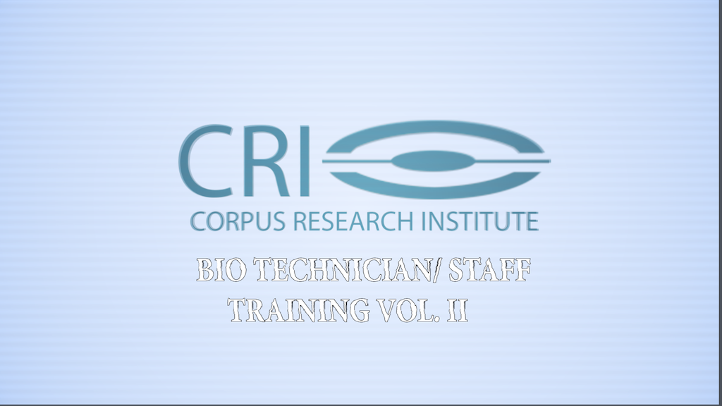 Help CORPUS RESEARCH INSTITUTE into Festivals! project video thumbnail