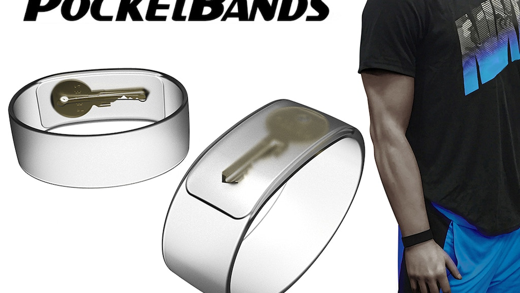 PocketBands™ 2.0 - Wristband With A Hidden Pocket project video thumbnail