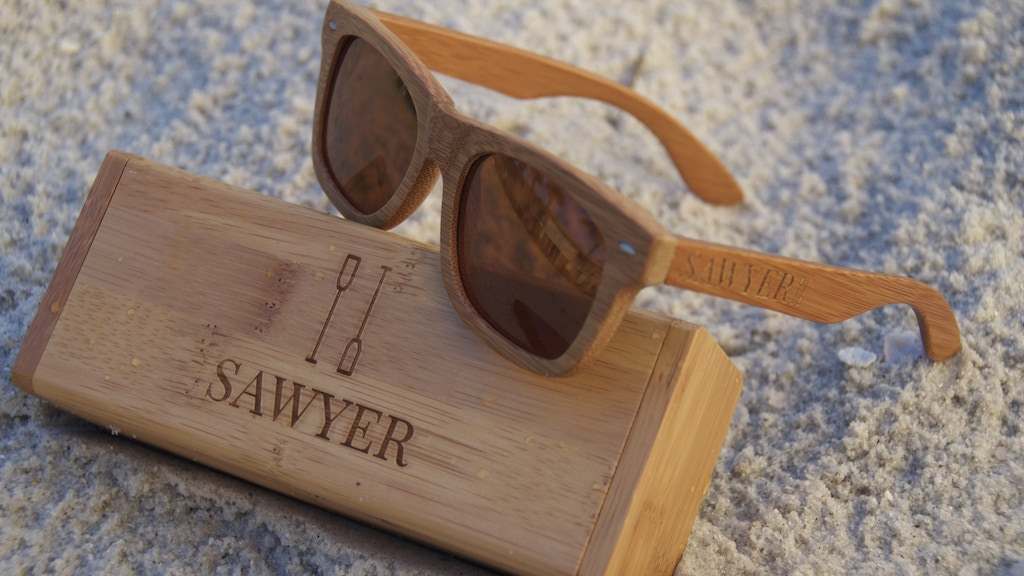 Sawyer Sunglasses - High Quality Floating Wooden Sunglasses project video thumbnail