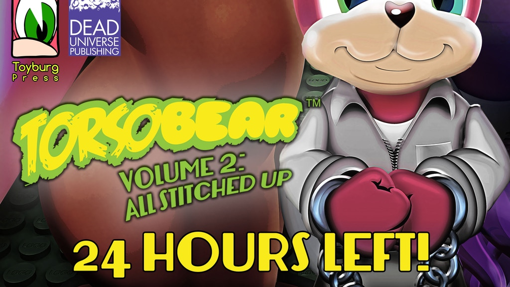 Torsobear Volume 2: All Stitched Up (Fluffy Noir anthology) project video thumbnail