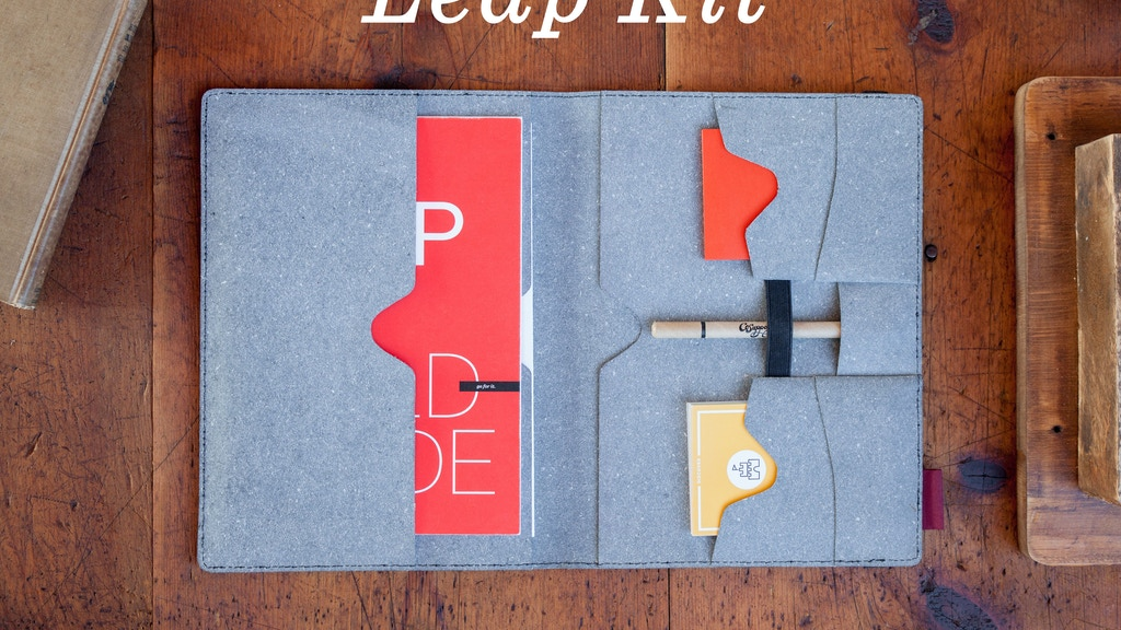 Leap Kit | A map, journal, & cards for planning 90-day leaps project video thumbnail