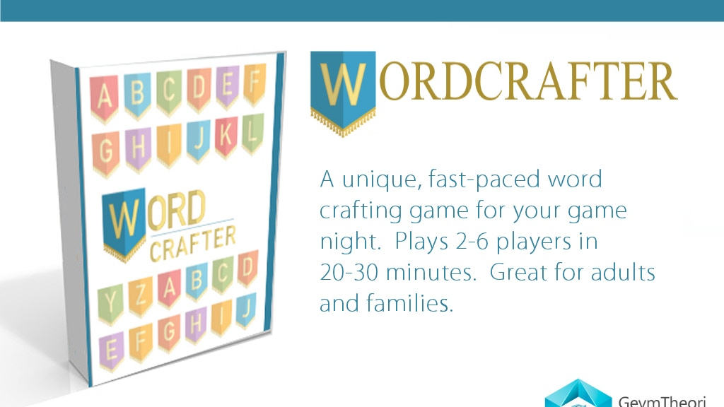 Project image for Wordcrafter by Geym Theori Studios