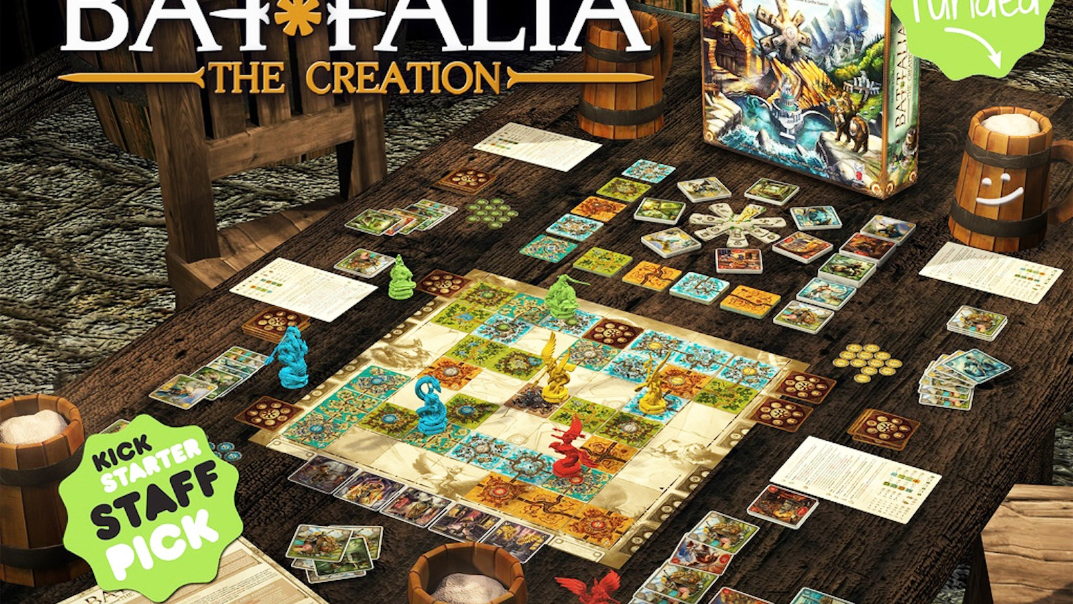 0175b3be25b5 BATTALIA  The Creation by FANTASMAGORIA Games LLC — Kickstarter