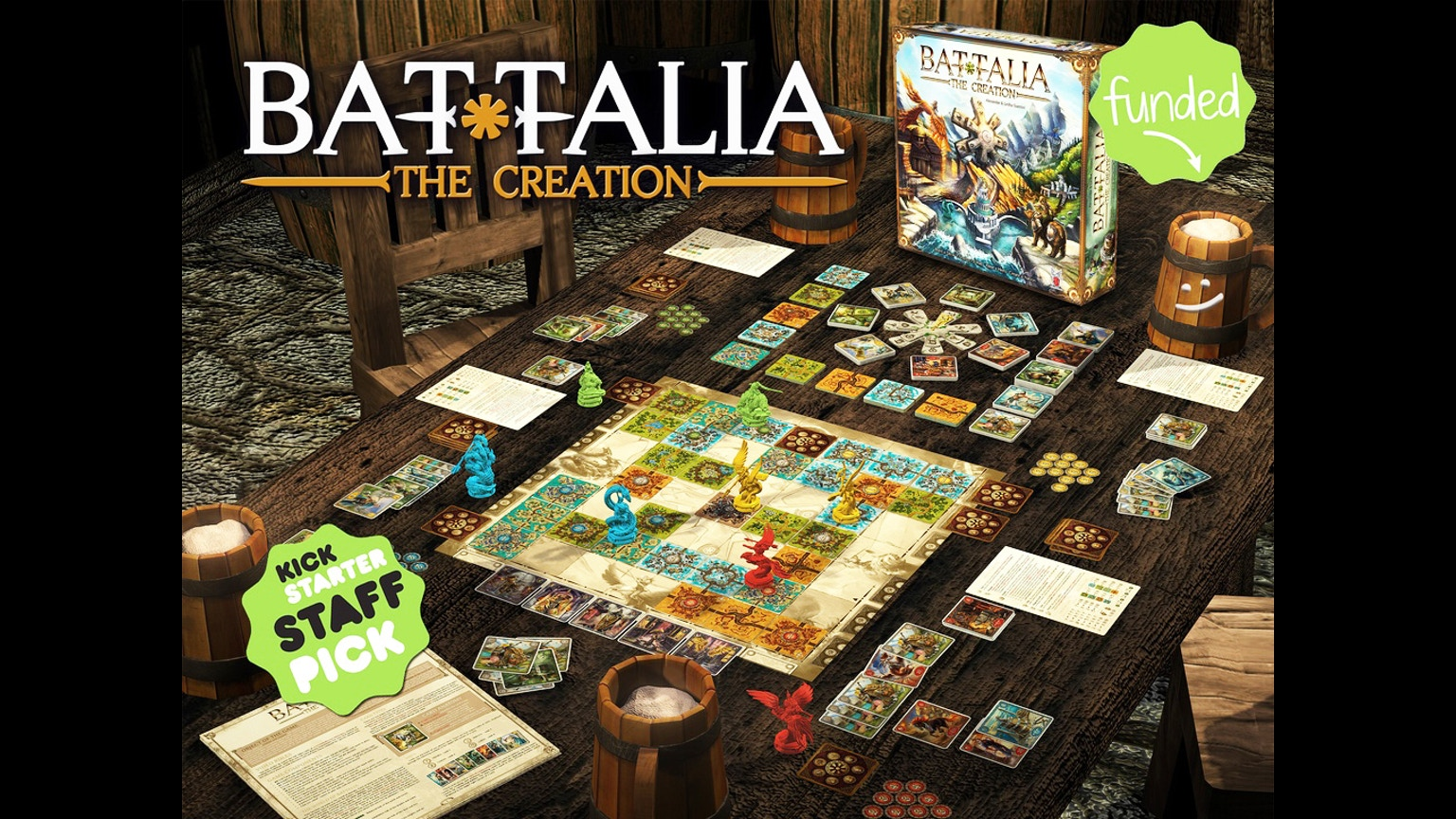 Battalia The Creation By Fantasmagoria Games Llc