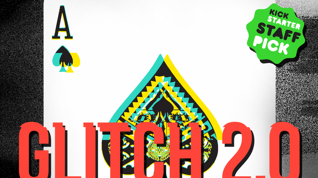 GLITCH 2.0 // Art Playing Cards project video thumbnail
