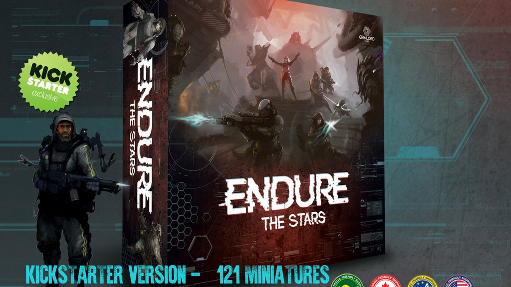 Endure the Stars project video thumbnail