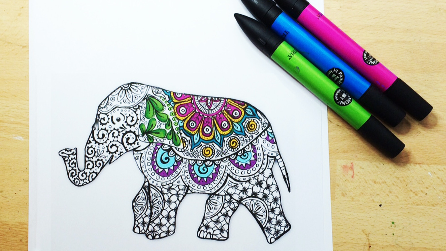A Beautiful Coloring Book For Teens And Adults Full Of Detailed Whimsical Designs