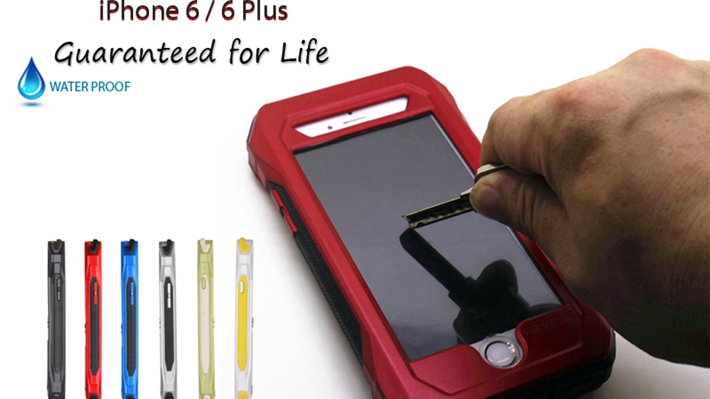 Dead Proof iPhone 6 + Cases: Protection Guaranteed For Life project video thumbnail