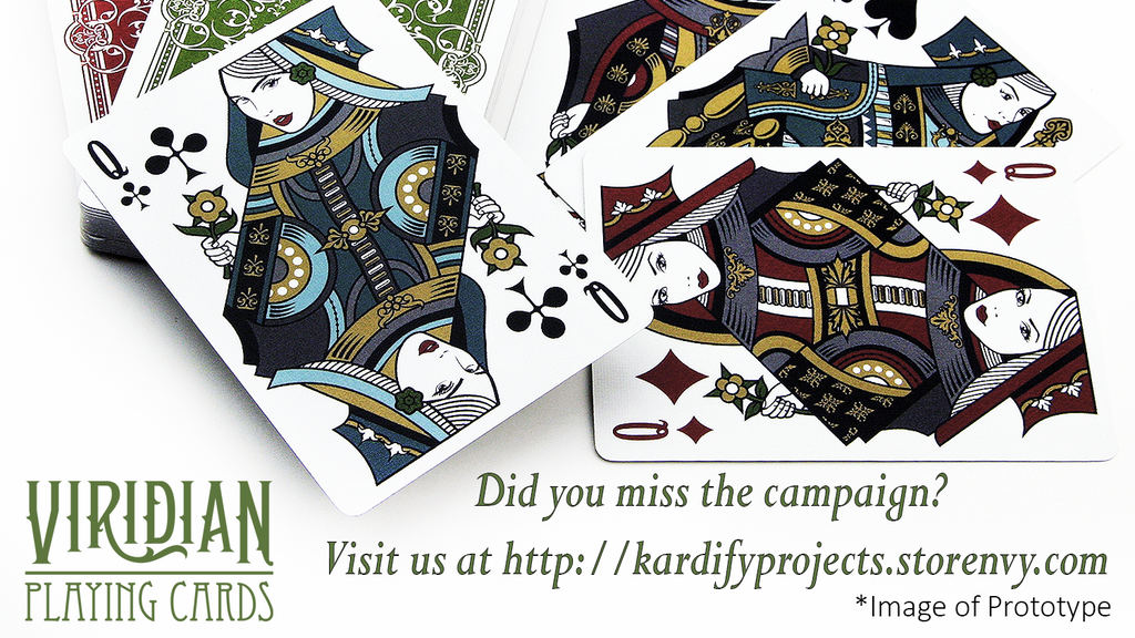 Beautifully crafted exquisite deck of playing cards. At an unbeatable price.