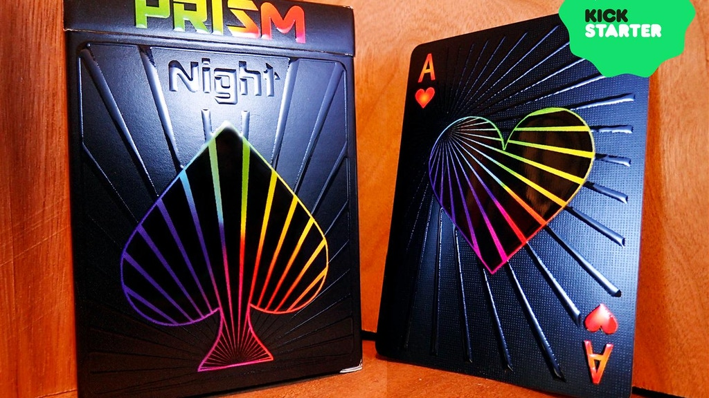 Prism: Night Playing Cards (Relaunch) project video thumbnail