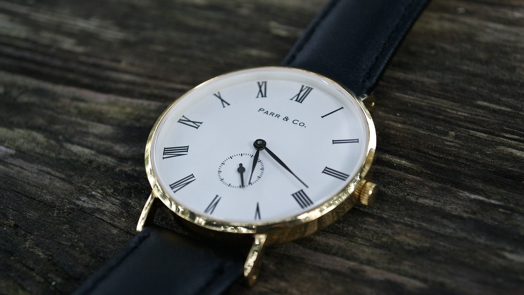 Parr & Co. Watches | For Every Occasion project video thumbnail